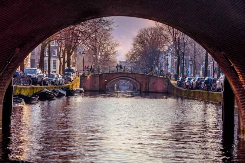 amsterdam arch arch bridge architecture
